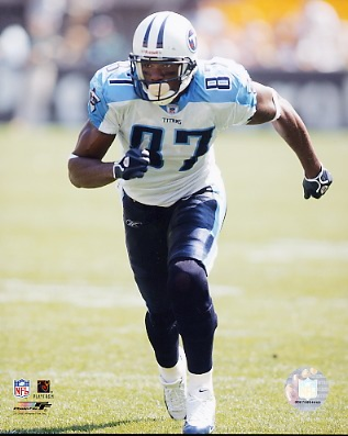 Tyrone Calico Tennessee Titans 8X10 Photo