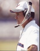 Dom Capers Coach Texans 8X10 Photo