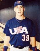 JD Drew Team USA Olympics 8X10 Photo