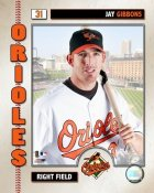 Jay Gibbons 2006 Studio Orioles 8X10 Photo