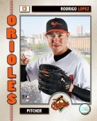 Rodrigo Lopez 2006 Studio Orioles 8X10 Photo