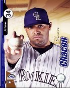 Shawn Chacon Studio 2004 Rockies 8X10 Photo