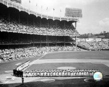 N2 Yankee Stadium 1955 World Series Opening Day SATIN 8X10 Photo