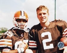 Tim Couch & Kevin Johnson Cleveland Browns 8X10 Photo