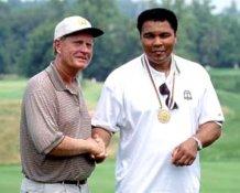 Jack Nicklaus Muhammad Ali 8X10 Photo