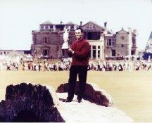 Tiger Woods British Open 8X10 Photo
