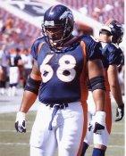 Mario Fatafehi Denver Broncos 8X10 Photo