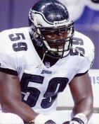 Derrick Burgess Philadelphia Eagles 8X10 Photo
