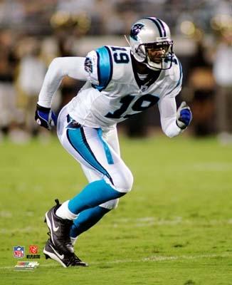 Keyshawn Johnson Carolina Panthers 8X10 Photo