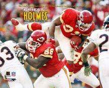 Priest Holmes 27th TD 2003 LIMITED STOCK Kansas City Chiefs 8X10 Photo