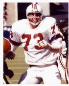 John Hannah New England Patriots 8X10 Photo