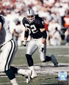 Richard Harvey Oakland Raiders 8X10 Photo