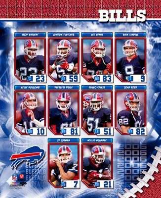 Buffalo 2006 Bills Team Composite 8X10 Photo