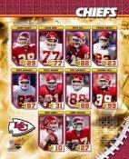 KC 2006 Chiefs Team Composite 8X10 Photo