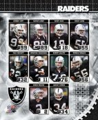 Oakland 2006 Raiders Team Composite 8X10 Photo