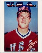 Jim Abbott Team USA LIMITED STOCK Olympic 8X10 Photo
