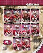 SF 2006 49ers Team Composite 8X10 Photo