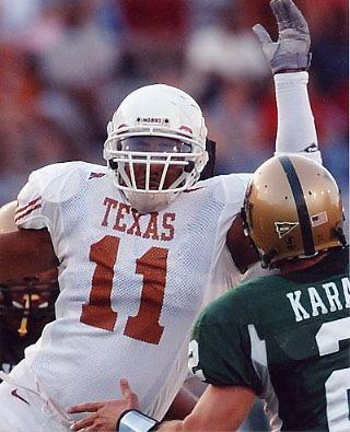 Derrick Johnson Texas Longhorns 8x10 Photo