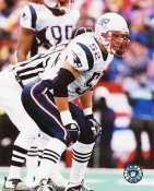 Ted Johnson New England Patriots 8X10 Photo