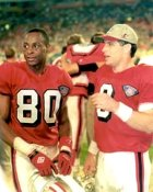 Jerry Rice & Steve Young 49ers LIMITED STOCK 8X10 Photo