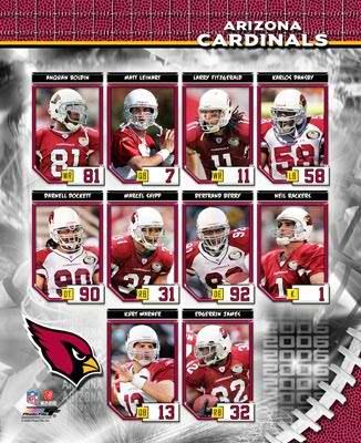 Arizona 2006 Cardinals Team Composite 8x10 Photo