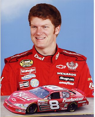 Dale Earnhardt Jr. LIMITED STOCK 2006 Composite Photo 8X10 Photo
