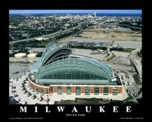 A1 Miller Park Milwaukee Brewers Aerial 8X10 Photo
