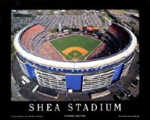 A1 Shea Stadium New York Mets Aerial 8X10 Photo
