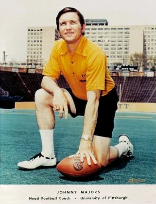 Johnny Majors Pittsburgh Panthers 8X10 Photo