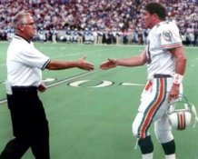 Dan Marino & Don Shula Miami Dolphins 8X10 Photo