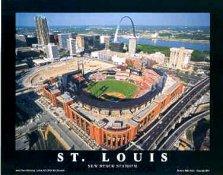 New Busch Stadium Aerial St. Louis Cardinals 8X10 Photo