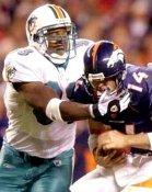 Adewale Ogunleye Miami Dolphins 8X10 Photo