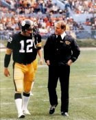 Terry Bradshaw & Chuck Noll Steelers 8x10 Photo