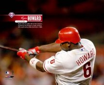 Ryan Howard Hits Hr 49 to Break Schmidts HR Record LIMITED STOCK Philadelphia Phillies 8X10 Photo