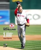 Curt Schilling 3000th Strike Out LIMITED STOCK 8x10 Photo LIMITED STOCK