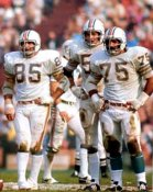 Nick Buoniconti & Manny Fernandez Dolphins 8X10 Photo