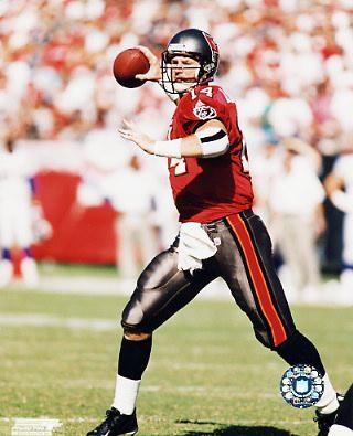 Brad Johnson LIMITED STOCK Tampa Bay Buccaneers 8X10 Photo