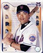Kaz Matsui 2006 Studio LIMITED STOCK NY Mets 8X10 Photo