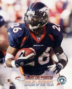 Clinton Portis R.O.Y. 2002 LIMITED STOCK Denver Broncos 8X10 Photo