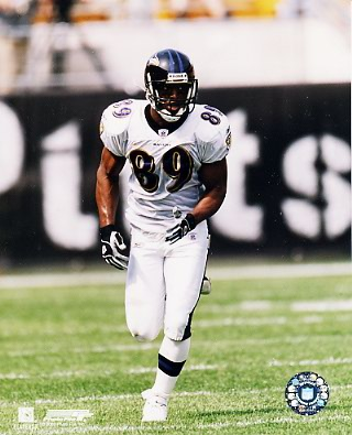 Travis Taylor Baltimore Ravens 8X10 Photo