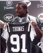 Bryan Thomas New York Jets 8X10 Photo