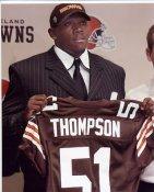 Chaun Thompson Cleveland Browns 8X10 Photo