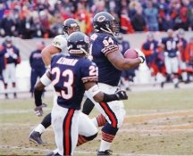 Keith Traylor 62 yard return Chicago Bears 8X10 Photo