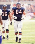 Rex Tucker Chicago Bears 8X10 Photo