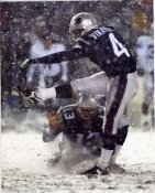 Adam Vinatieri Playoffs vs. Raiders 8x10 Photo