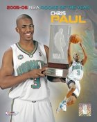 Chris Paul 2006 ROY Hornets 8X10 Photo LIMITED STOCK