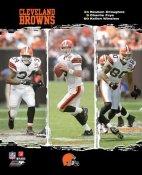 Kellen Winslow, Charlie Frye, Reuben Droughns Browns 2006 Big 3 8X10 Photo