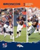 Jake Plummer, Rod Smith, Javon Walker Broncos 2006 Big 3 LIMITED STOCK 8x10 Photo