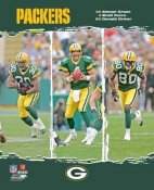Brett Favre -Donald Driver & Green OUT OF PRINT 8X10 Photo