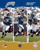 Byron Leftwich, Matt Jones, Fred Taylor Jaguars 2006 Big 3 8X10 Photo